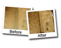 water stain removal from shower doors