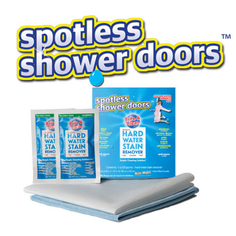Brite & Clean Spotless Shower Doors Kit