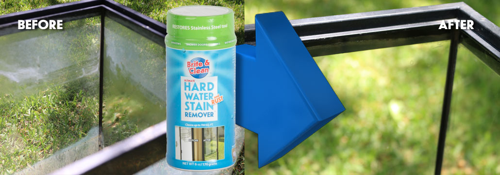 Remove Hard Water Stains on AQUARIUMS